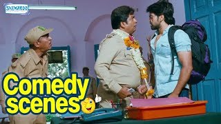 GajaKesari Kannada Movie- Super comedy Scene Yash Amulya