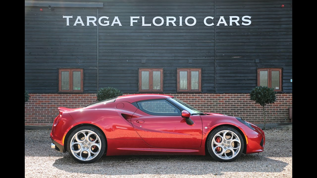 alfa romeo 4c tbi alfa tct for sale in rosso competizione youtube. Black Bedroom Furniture Sets. Home Design Ideas