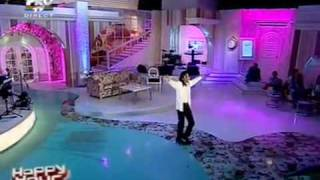 Earnest Valentino Performs Will You Be There on Romanian T.V. (2010)