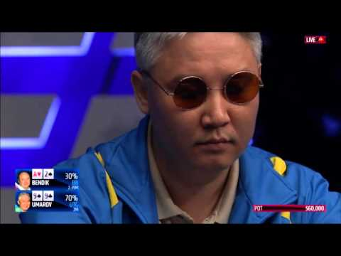 EPT 12 Monaco 2016 - Grand Final: Main Event, FINAL TABLE. HD