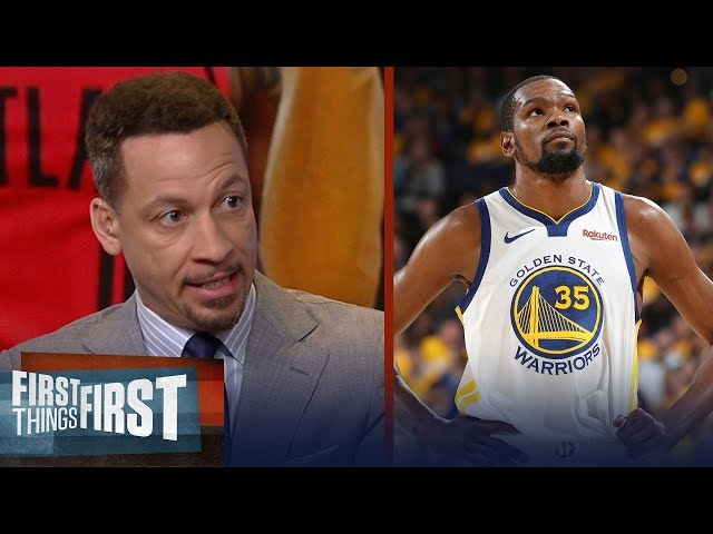 Chris Broussard: Even without KD, the Warriors can win this title | NBA | FIRST THINGS FIRST