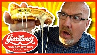 Giordano's ★ Deep Dish Pizza Review - The Classic Chicago