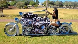 10 MOST UNUSUAL & WEIRDEST MOTORCYCLES IN THE WORLD