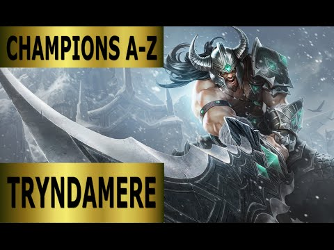 Champions A-Z #100 Tryndamere Top Lane Guide - Full Gameplay [German] League of Legends by DPoR