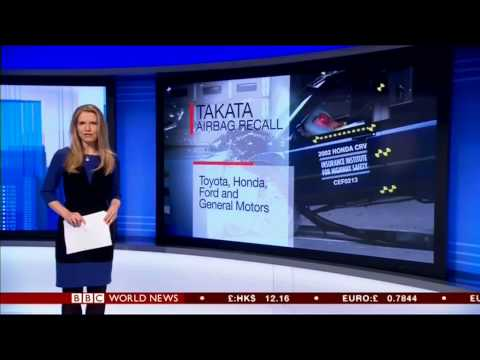 Alice Baxter - Presenter BBC World News, World Business Report  03/12/2014