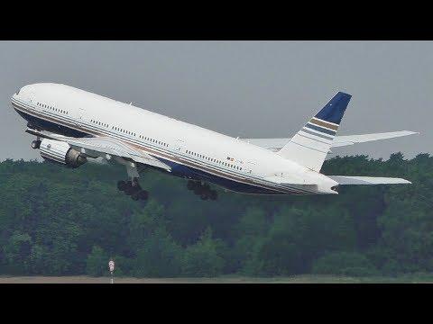 Privilege Style Boeing 777-200ER Takeoff At Berlin Tegel