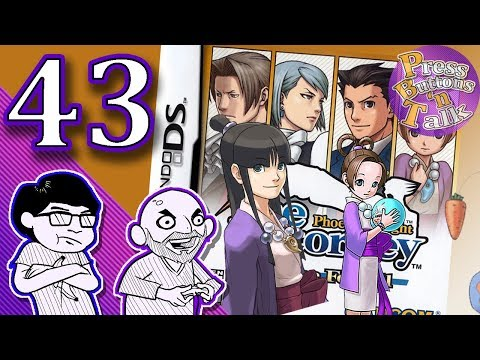 Phoenix Wright: Justice for All, Ep. 43: Two Symbols - Press Buttons 'n Talk