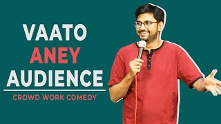 Vaato aney Audience | Gujarati Stand-Up Comedy by Chirayu Mistry