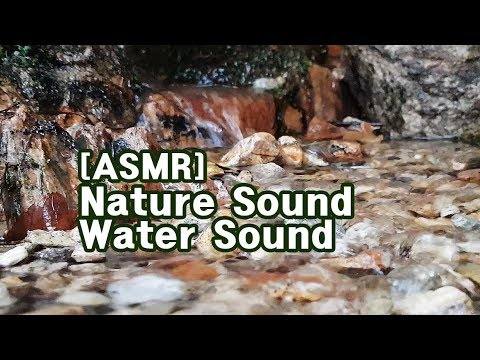 ASMR] Water Sound of Nature 4K