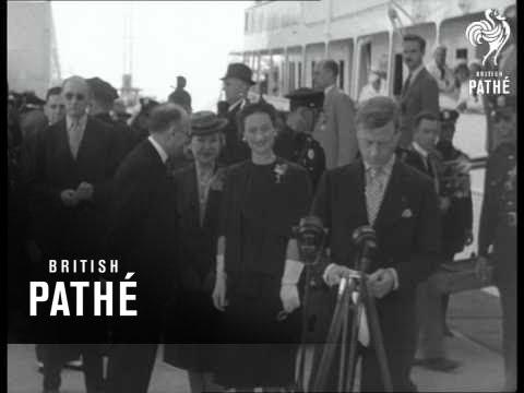 Duke And Duchess Of Windsor In Miami (1940)