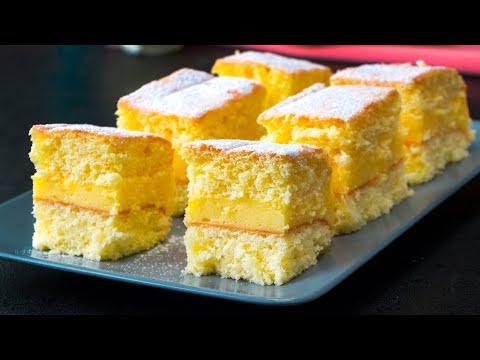 recette-simple-de-gâteau-savoureux-et-moelleux-à-la-crème-vanille|-savoureux.tv