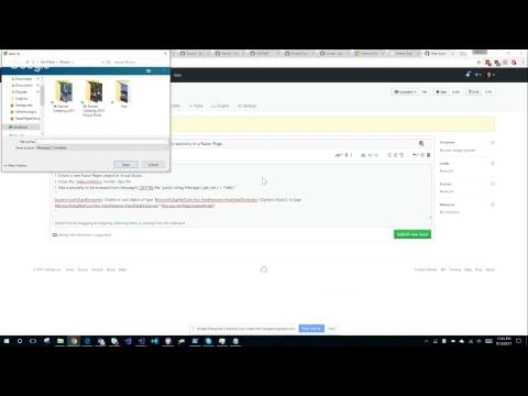 Migrate live.asp.net to ASP.NET Core 2.0 & Razor Pages