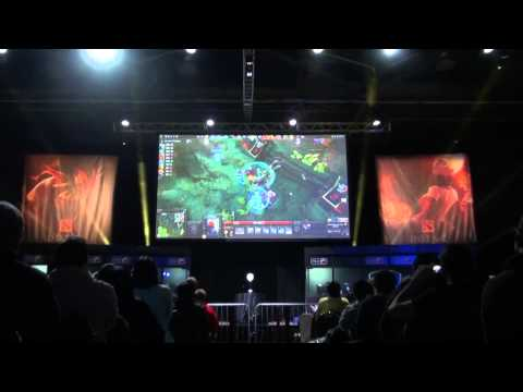 XBOCT 2x Divine Rapiers vs DK in Game 2 - live VOD @ MLG Col