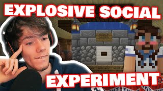 Fundy BUILT SOCIAL EXPERIMENT In COMMUNITY HOUSE With Hbomb As MAID! DREAM SMP