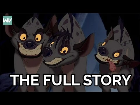 Who Created The Elephant Graveyard Hyenas Full Story Discovering Disney The Lion King Youtube