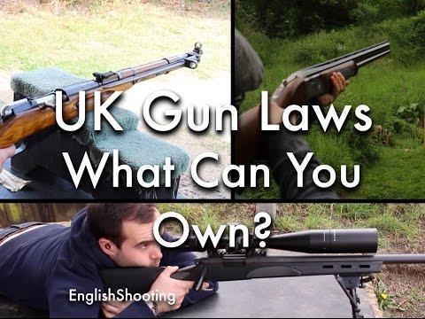 UK Gun Laws - What Guns Can You Own