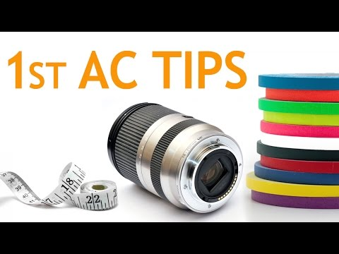Tips to be a Good 1st AC