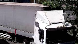 Видеозапись с уличной поворотной Wi-Fi камеры Zodiak 309