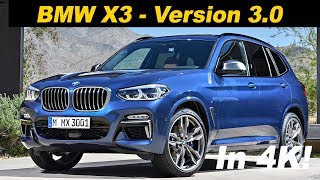 2018 BMW X3 Review / Comparison - In 4K