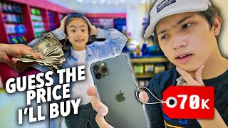 GUESS The Price And I'll BUY It!! (IPhone 11 Pro Max?!) | Ranz and Niana