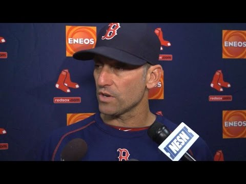 BOS@CWS: Lovullo on Kelly's pitching, team's win