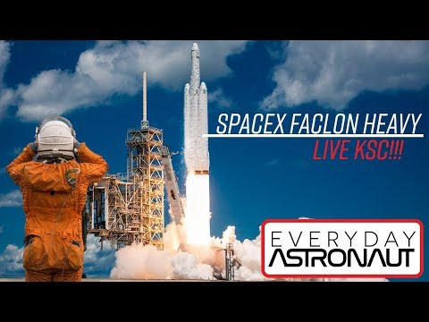 LIVE at Falcon Heavy (3 miles away)(potato quality)