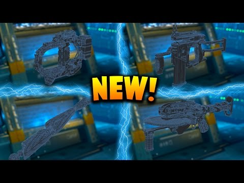 4 NEW BLACK OPS 3 WEAPONS! - $200 Supply Drop Opening (Black