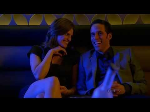 Stana Katic Smokin Hot  Castle  Ferrari Club , Beckett Nathan Fillion 720p HD