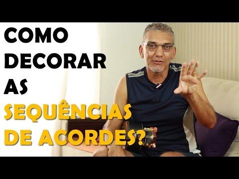 Dica Importante Para Decorar as Sequências de Acordes no Cavaquinho - Professor Damiro