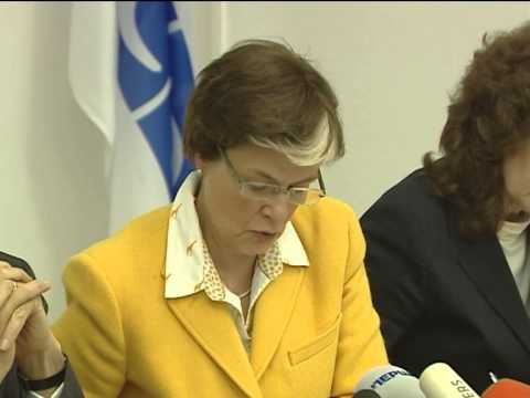 Press conference by OSCE Personal Envoy Guldimann and OSCE HCNM Astrid Thors
