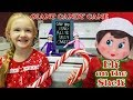 Purple & Pink Elf on the Shelf - Giant Candy Cane Scavenger Hunt! Day 3