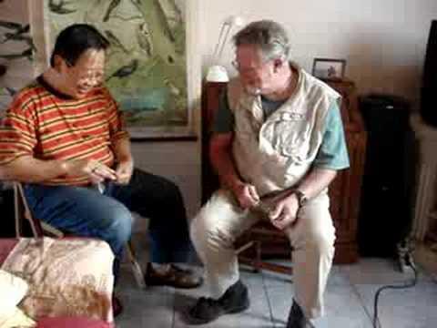 Meeting of 2 Kings of Spoons: Roger Mason & Tran Quang Hai