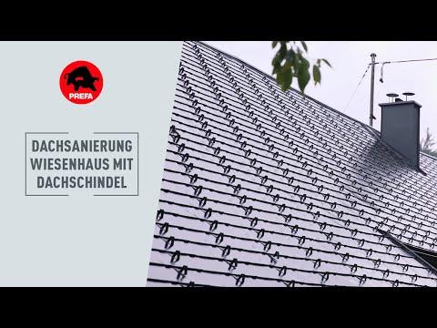 """PREFA Dachsanierung - 400 Jahre altes """"Wiesenhaus"""""""