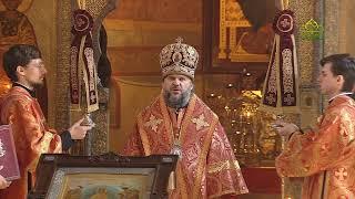Божественная литургия 3 мая 2020 г., Сретенский мужской монастырь, г. Москва