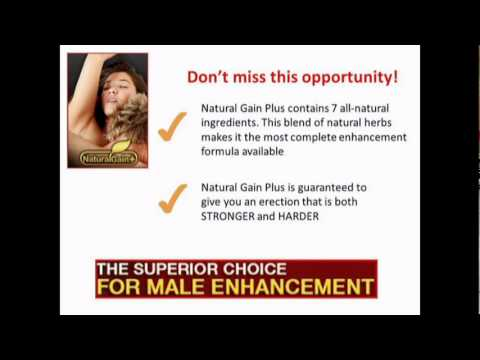 Natural Gain Plus The Male Enhancement Solution That Actually