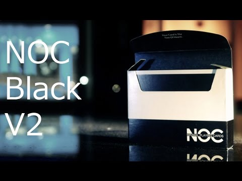 Обзор колоды NOC BLACK V2 // Deck review