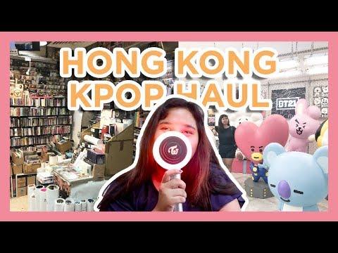 hong-kong-kpop-haul-|-sino-centre,-bt21-line-store,-dragon-centre