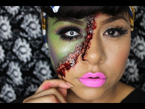 tutorial de maquillaje pin up zombie juancarlos960 youtube. Black Bedroom Furniture Sets. Home Design Ideas