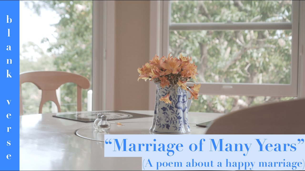 Dana Gioia Poem About Love Marriage Of Many Years Poetry Video
