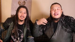 Interview with THE HU for their 1st album The Gereg with english subtitles