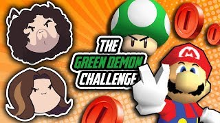 Super Mario 64 Green Demon Challenge: Ya Think He Can Do It? - PART 4 - Game Grumps