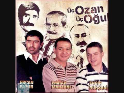 Üc Ozan Üc Ogul - Engin Nursani Emrah Mahzuni Ercan Papur - Saclarini Öremedim