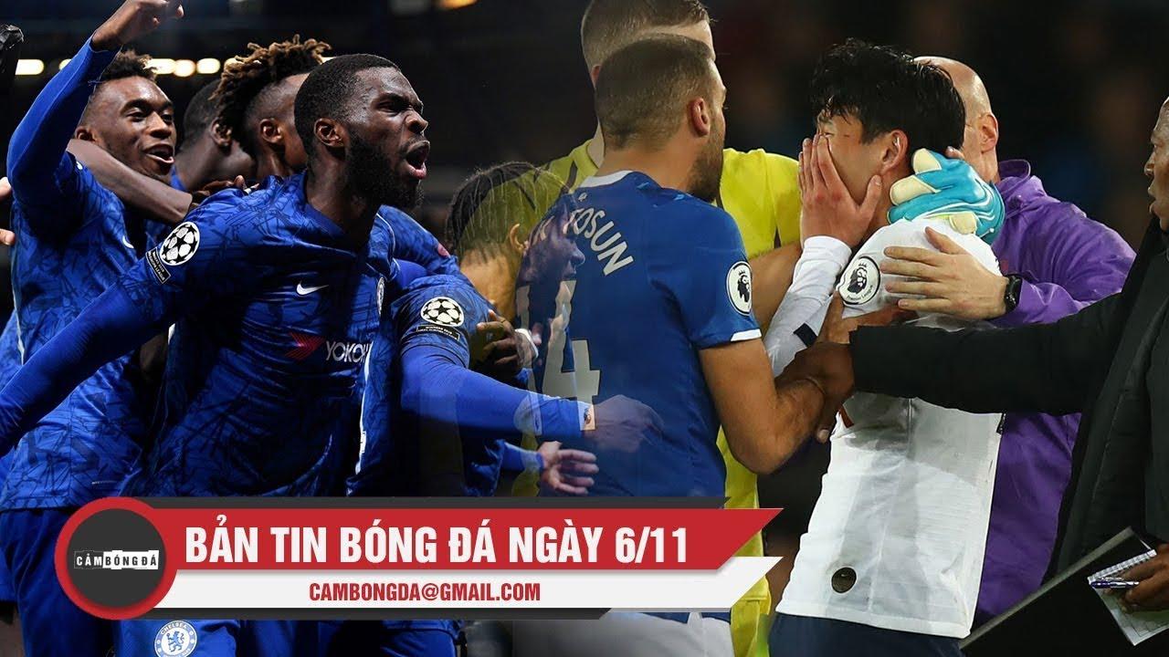 Bản tin Cảm Bóng Đá ngày 6/11 | Chelsea thoát chết trước Ajax; FA chính thức xóa tội cho Son