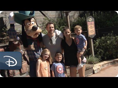 Scott Foley Visits Walt Disney World Resort