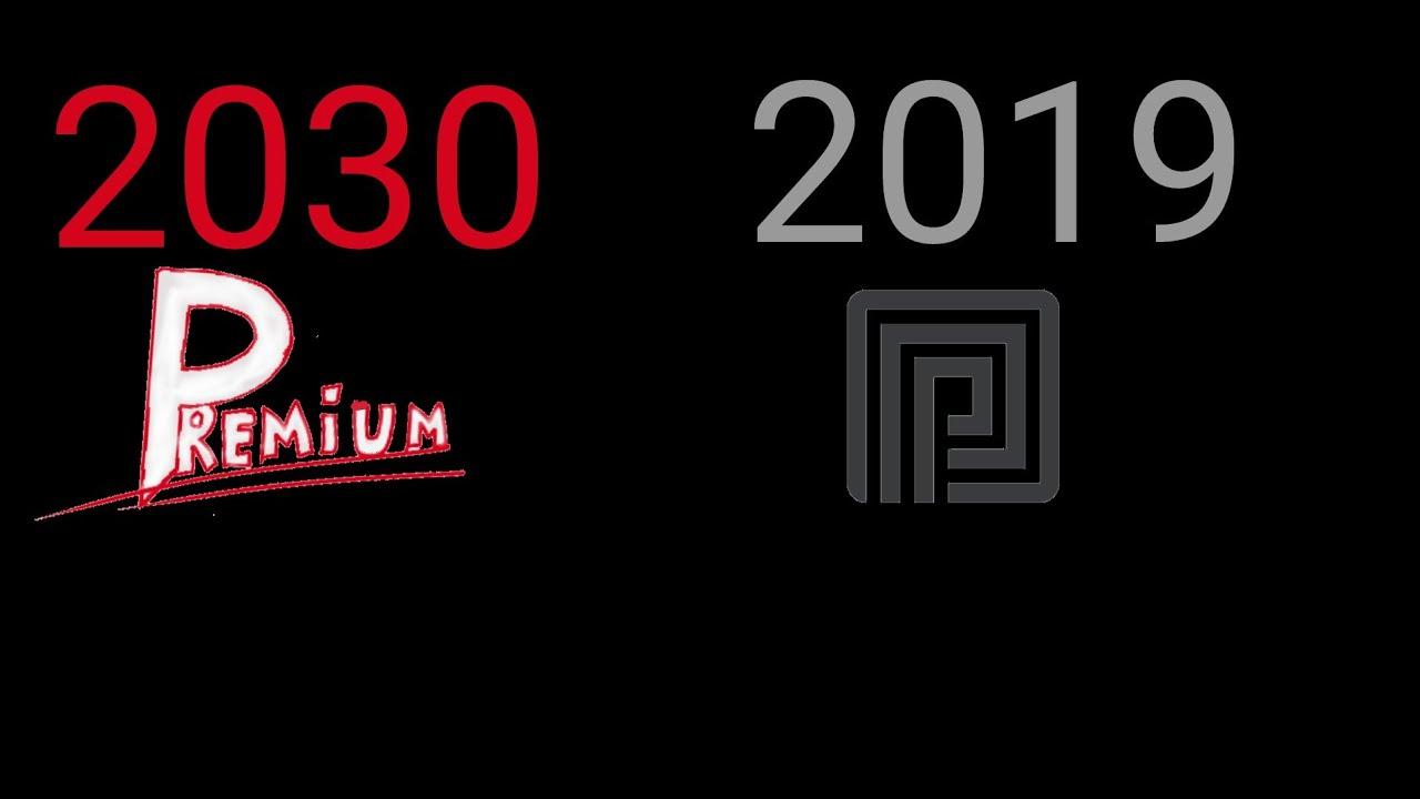 Roblox Premium Logo Evolution 2019 2030 Youtube