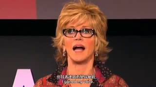 TED 中英雙語字幕:  珍·芳達  生命的第三幕