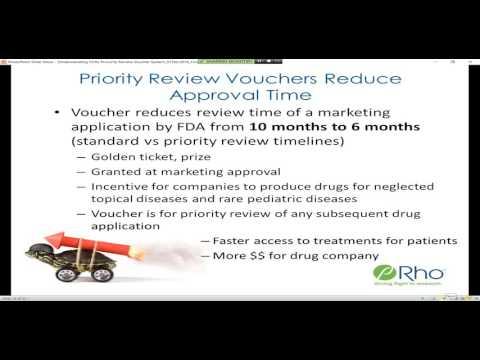 Understanding FDA's Priority Review Voucher System