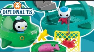 Explore, Rescue, Protects With The Octonauts! Gup-e And Gup-a Bath Time Toys.