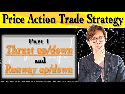 Price Action Part 1: Thrust Up/down, Runway Up/down For Forex Trading Strategy