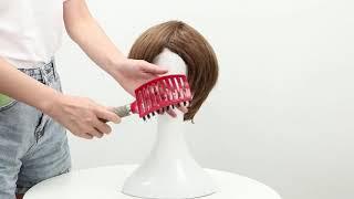Массажная расческа Для женщин Расчёска облегчающая Расчесывание Волос покупайте на aliexpress